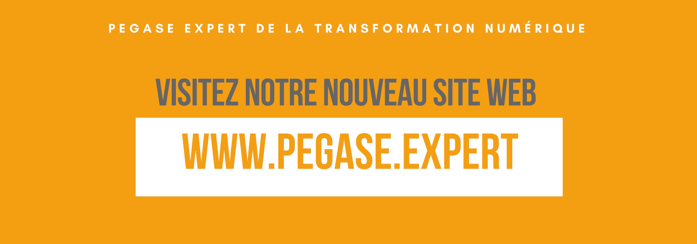 Nouveau site web pegase.expert